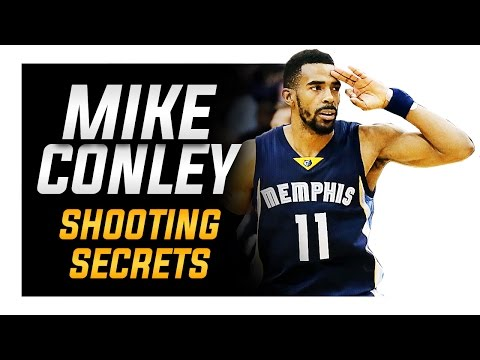 Mike Conley Shooting Form: NBA Shooting Secrets