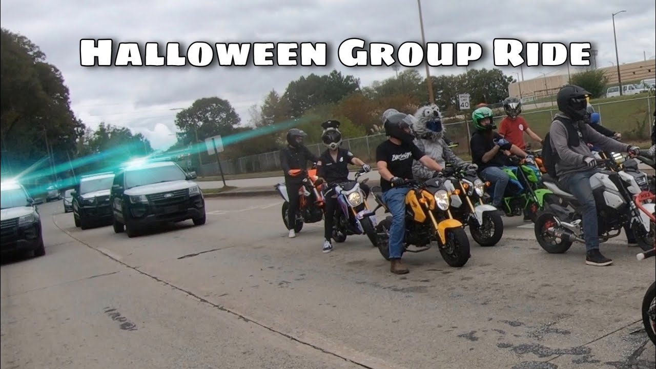 Download COPS VS BIKERS Halloween Group Ride