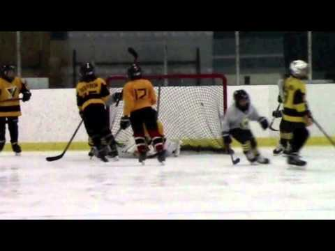 09-20-15 Fox Valley Cyclones Squirt A3's vs Crystal Lake Yellow Jackets