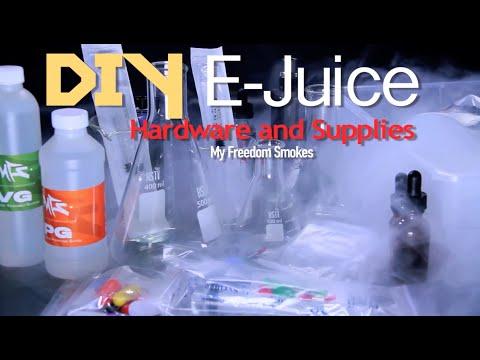 DIY Ejuice Hardware and Supplies - MyFreedomSmokes