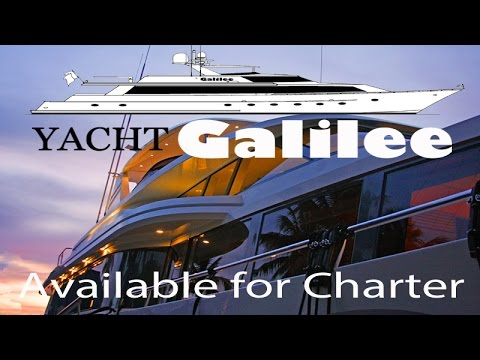 Motor Yacht GALILEE ~ Available for yacht Charter ~ Caribbean ~ WeBeYachting.com