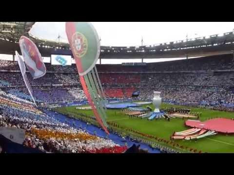 Euro 2016 Final Match France Vs Portugal Opening Ceremony Stade De France Saint-denis