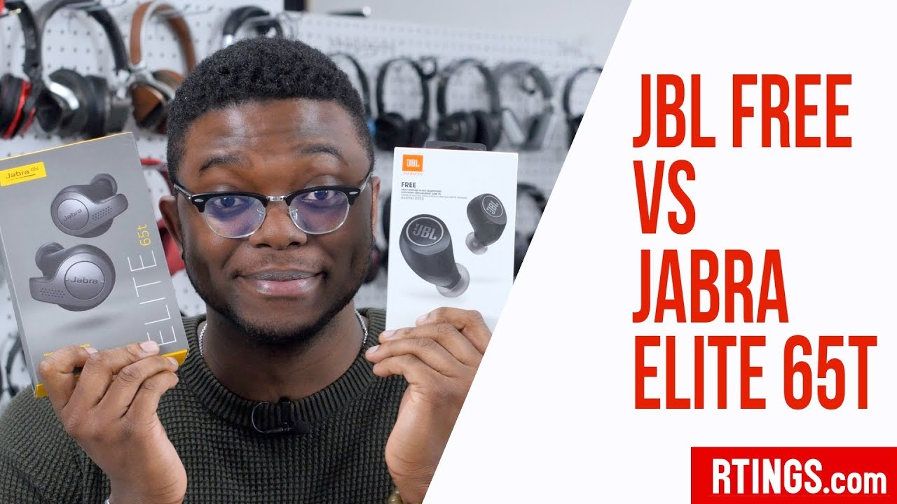 Jabra Elite 65t Vs Jbl Free Headphones Review Rtings Com Youtube