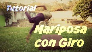 B-Twist Tutorial en Español - Como hacer el B-Twist/Mariposa con Giro