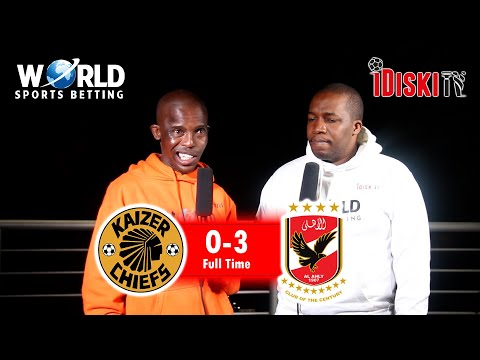 Download Al Ahly 3-0 Kaizer Chiefs   It Was A Horror Movie For Chiefs   Junior Khanye