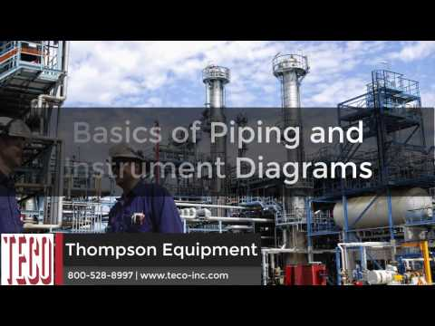 Basics Of Process Piping: Piping & Instrument Diagrams