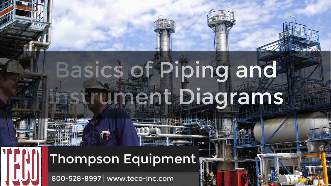 basics of process piping piping instrument diagrams [ 1280 x 720 Pixel ]