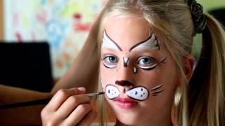 Урок №2 - Котенок(В аквагриме существует большое разнообразие изображений котят для детей. Для этого урока я выбрала простую..., 2014-08-24T18:43:45.000Z)