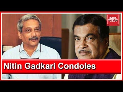 """Nitin Gadkari's Tribute To Manohar Parrikar: """"Big Loss To Indian Politics"""""""