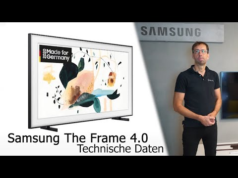 Samsung The Frame 4.0 2020 Ein näherer Einblick - GQ75LS03TAU - GQ65LS03TAU