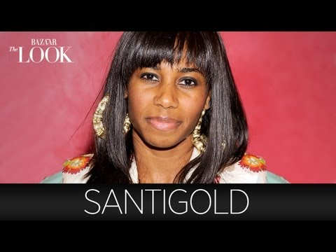 Shopping with Santigold | Harper's Bazaar The Look