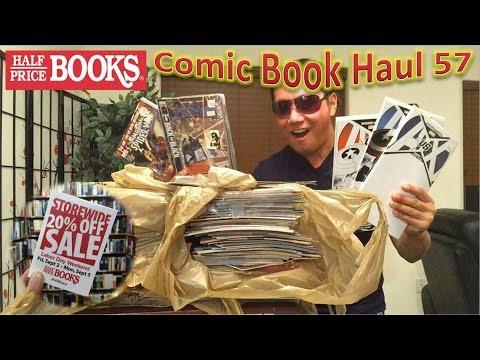 Half Price Books Comic Book Haul 57 | Labor Day Sale 2016