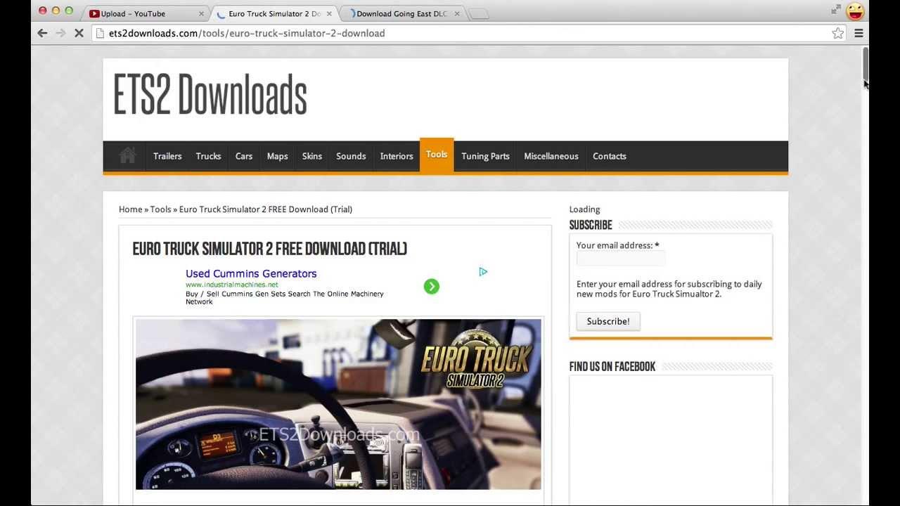 Download Euro Truck Simulator 2 + Going East! DLC (Trial)