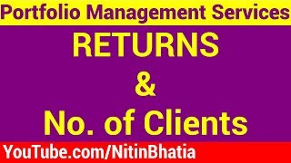Portfolio Management Services India - Returns and No of Clients (HINDI)