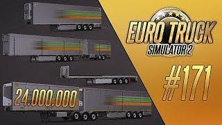 ТРЕЙЛЕР ЗА 24.000.000. ВСЕ ПРИЦЕПЫ - Euro Truck Simulator 2 (1.32.2.34s) [#171]