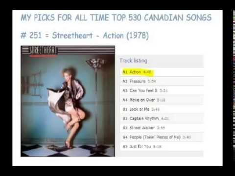 Top 530 Canadian Songs - 280 To 251