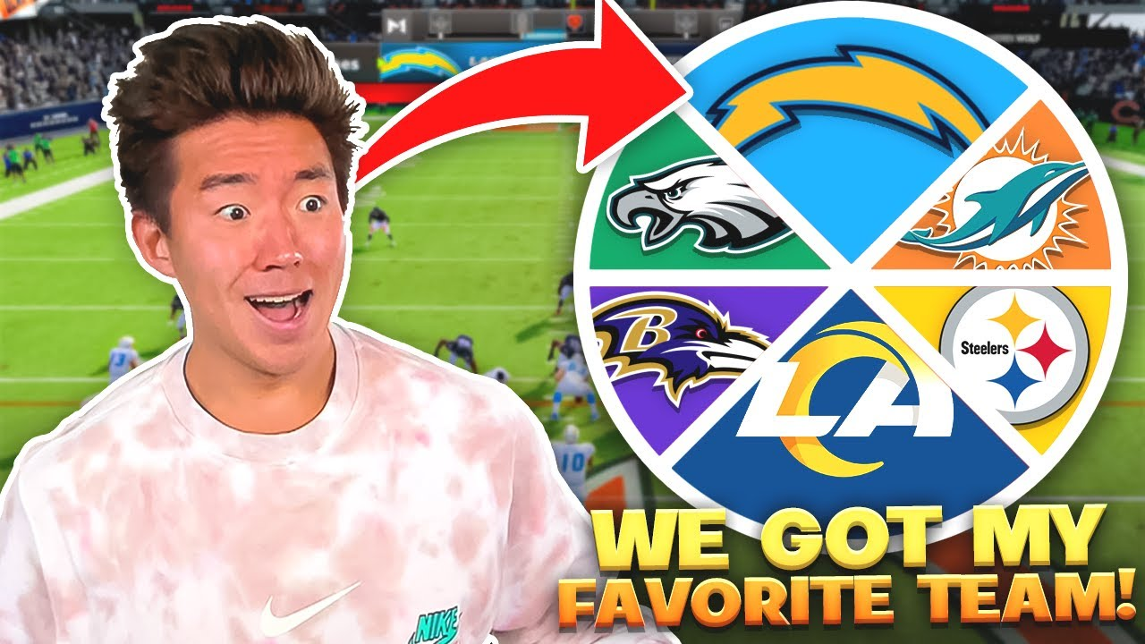 Download We Got MY FAVORITE TEAM! Spin the Wheel Of NFL Teams Ep.6! Madden 22