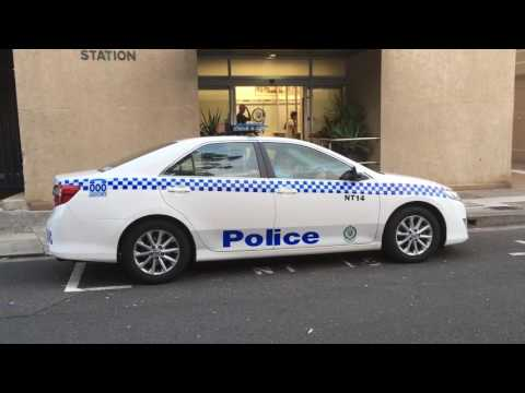 NSW Police - Newtown 16, 17 And 14 Responding