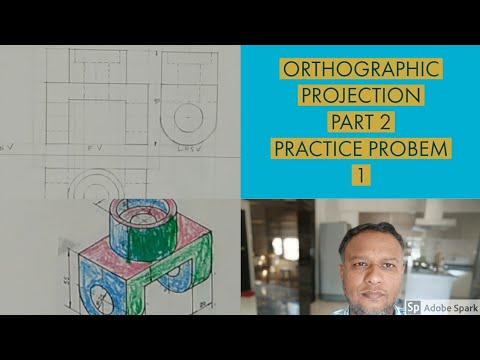 Orthographic projection part 2 fundamentals and basic concept(video lecture)