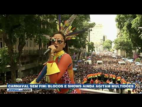 Blocos e shows continuam no pós-Carnaval brasileiro
