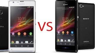 Sony Xperia M vs Xperia L, review comparativa (en español)