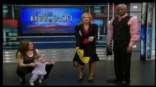 The Juppy Baby Walker featured on Las Vegas KTNV 13 morning news