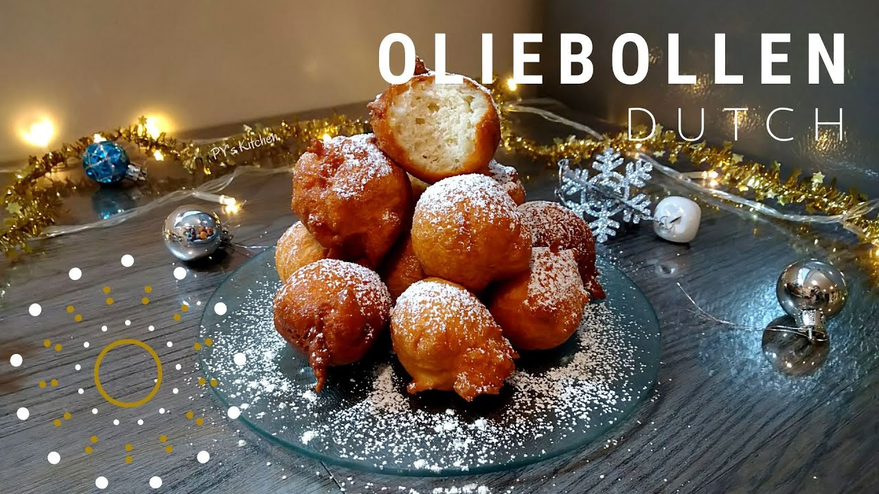 Oliebollen Recept Dutch New Years Recipe Youtube