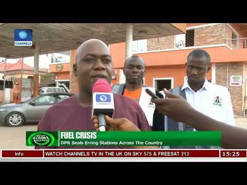 DPR Monitors Fuel Stations In Abuja | News Across Nigeria