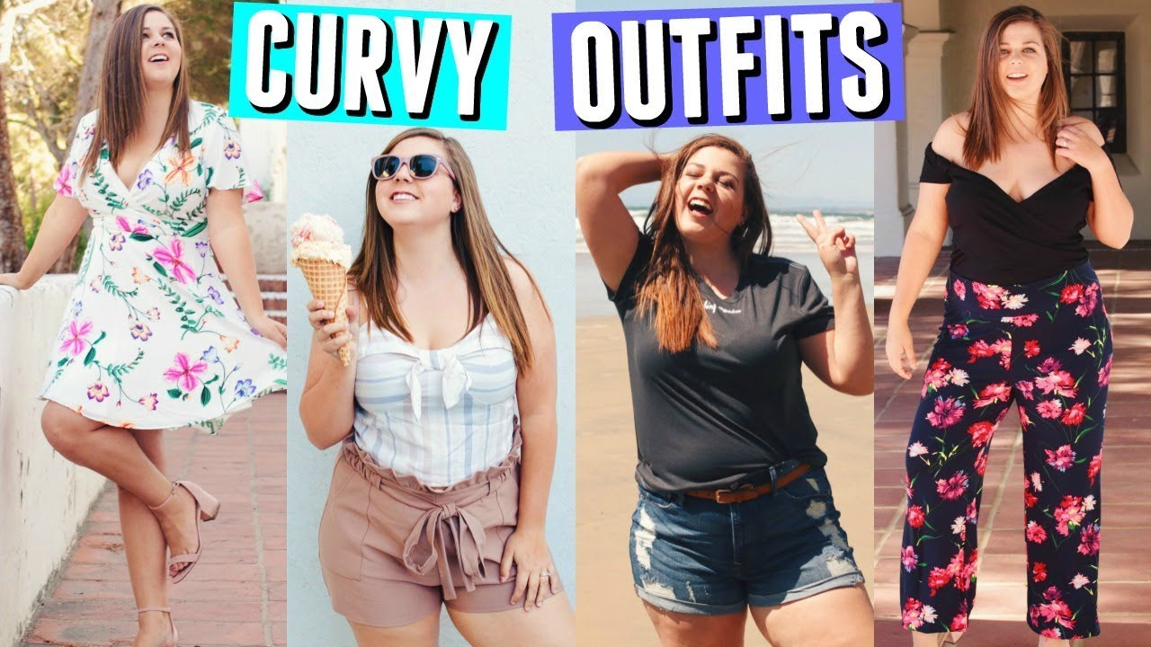 c2881a06348a Go To Curvy Girl Outfit Ideas! Spring   Summer Break Lookbook! - YouTube