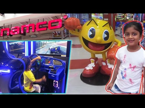1st Namco Play Activity Centre Mumbai | Namco Video Games Center at Oberoi Mall India | Tiny Pix