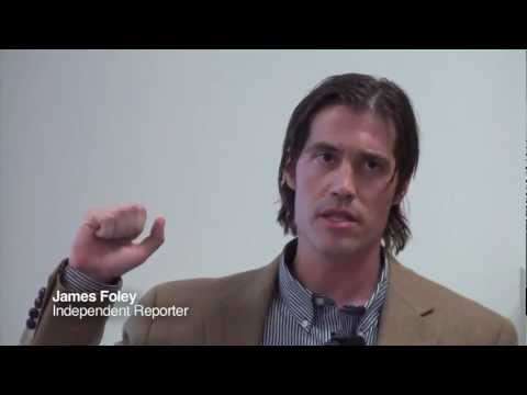 James Foley: Covering Libya