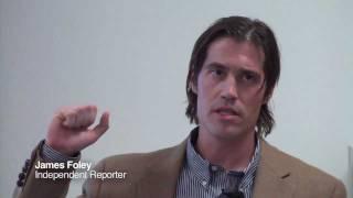 James Foley: Covering Libya
