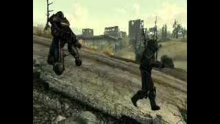 Fallout 3 Random Encounter- Outcast slaughtered Enclave deserter