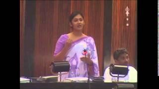 Budget 2015 Hon Upeksha Swarnamali Speech Nov 12