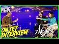 ALADDIN | Will Smith, Naomi Scott & Mena Massoud On-set Interview
