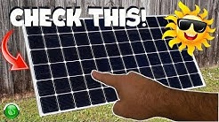 How To Get The MOST Power Output From Your Solar Panels!