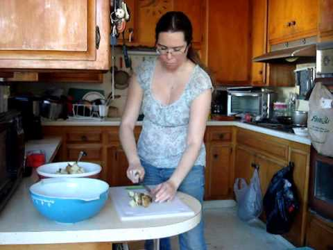 Lisha's Home made Potato Salad recipe Cooking with your kids and making cooking fun