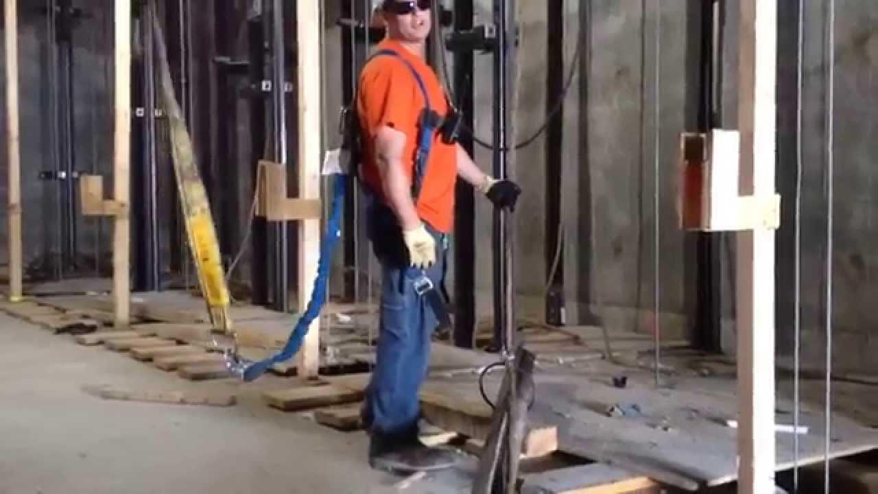 Freedom Tower Elevator Construction - YouTube