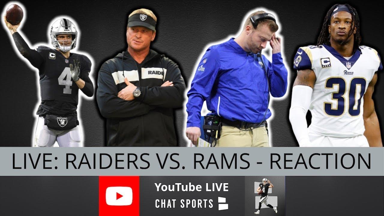 LA Rams vs. Raiders: Live updates from Oakland