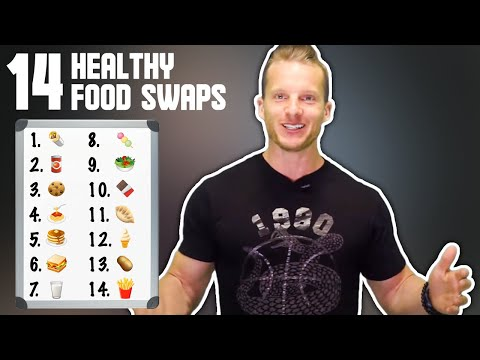 14 Simple Food Swaps to get a Lean Belly   LiveLeanTV
