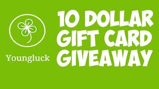 10 Dollar Gift Card Giveaway!