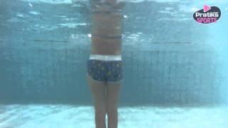 Aquagym - Comment lutter contre la culotte de cheval avec le saut de grenouille