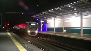 西武鉄道 下り特急通過 38110F準急池袋行到着 西所沢