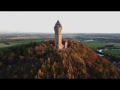 Stirling Castle & Wallace Monument - Mavic Pro drone footage