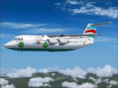 La Mia flight 2933 The final Chapecoense flight (FS2004)