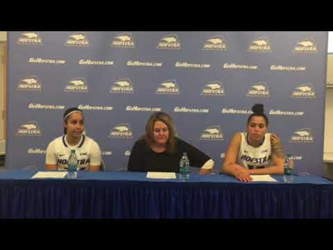 WBB: Hofstra Postgame Press Conference Vs. William & Mary (1/19/18)