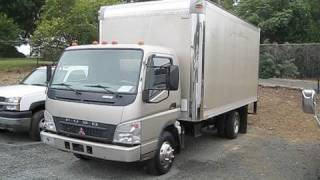 2005 Mitsubishi Fuso FE145 Turbo Diesel Start Up, Engine, and In Depth Tour