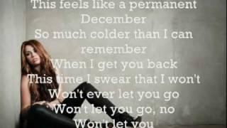 Permanent December - Miley Cyrus  +  Lyrics