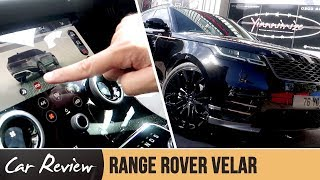 what is yianni doing with his new range rover velar