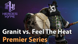 ► Heroes of the Storm: Granit Gaming vs. Feel The Heat - HeroesHype Premier Series